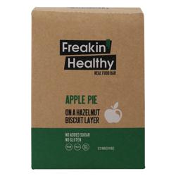 Freakin Healthy Apple Pie On The Hazelnut Biscuit Layer 40 gr Pack of 12