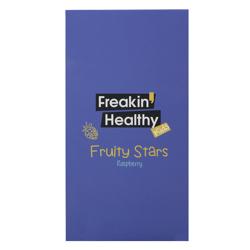 Freakin Healthy Fruity Stars Raspberry Flavour Jelly 21 gr Pack of 12