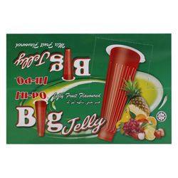 Hi Po Foodvest Fruit Flavour Big Jelly 148 gr Pack of 12