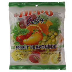 Hi Po Fruit Flavour Jelly Cup 13 gr Pack of 20