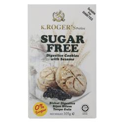 K.Roger''s Sugar Free Digestive Cookies 105 gr