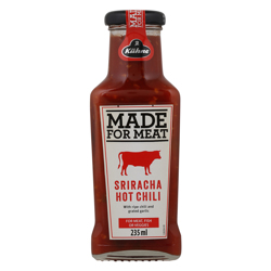 Kuhne Made For Meat Hot Chili Sriracha Sauce 235 ml