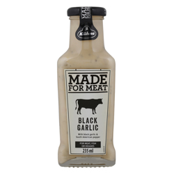 Kuhne Made For Meat Black Garlic and Pepper Sauce 235 ml
