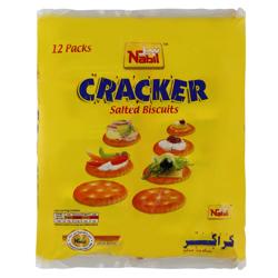 Nabil Cracker Salted Biscuit 35 gr Pack of 12