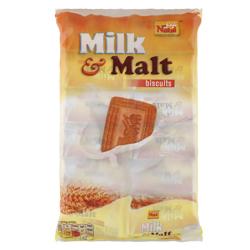Nabil Milk & Malt Biscuits 48 gr Pack of 12