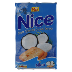 Nabil Nice Sugar Sprinkled Coconut Biscuits 48 gr Pack of 12
