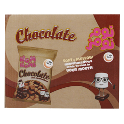 Nom Noms Chocolate Flavour Mini Marshmallow 22 gr Pack of 30