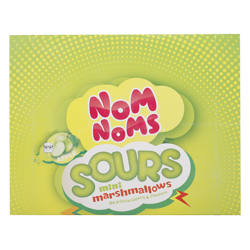 Nom Noms Sours Apple Flavour Mini Marshmallow 22 gr Pack of 12