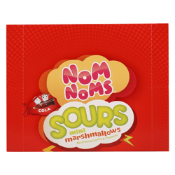Nom Noms Sours Cola Flavour Mini Marshmallow 22 gr Pack of 12