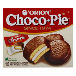 Orion Choco Pie 30 gr Pack of 12