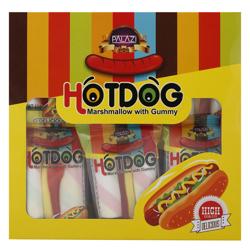 Palazi Lechao Hotdog Marshmallow Gummy Candy 15 gr Pack of 24
