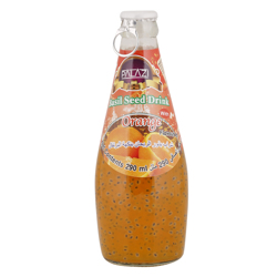Palazi Orange Flavour Basil Seed Drink 290 ml