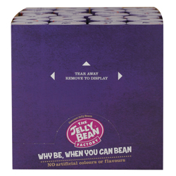 The Jelly Bean Factory 36 Huge Flavours 100 gr Pack of 24