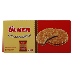 Ulker Choco Sandwich Biscuit 22.5 gr Pack of 24