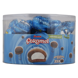 Ulker Cokomel Marshmallow Cocoa Biscuits 12 gr Pack of 35