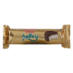 Ulker Halley Real Chocolate Sandwich Biscuit 77 gr