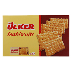 Ulker Tea Biscuits 160 g Pack 12