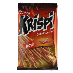 Ulker Krispi Stick Hot Mexican Pepper Cracker 40 gr
