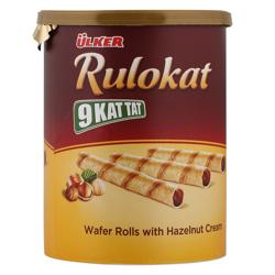Ulker Rulokat 9 Kat Tat Wafer Rolls 170 gr