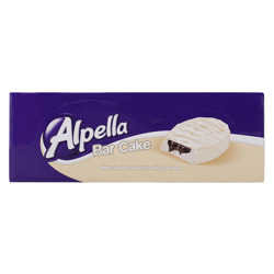 Ulker Alpella White Chocolate Coated Cake with Cocoa Sauce 40 gr Pack of 24
