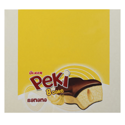 UlkerB18 Peki 8 Banana Cake 40 gr Pack of 24