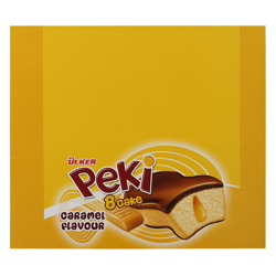 Ulker Peki 8 Caramel Cake 40 gr Pack of 24