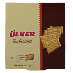 Ulker Plain Tea Biscuit 25 gr Pack of 12