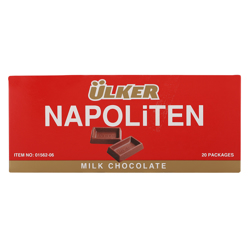 Ulker Napoliten Milk Chocolate 33 gr Pack of 20