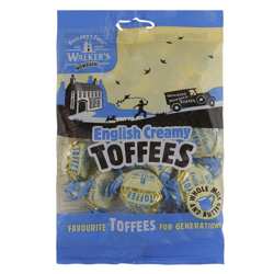 Walkers English Creamy Toffees 150 g