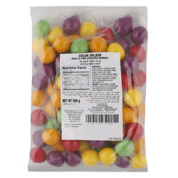Zed 23.1 Mm Assorted Gum Balls 500 gr