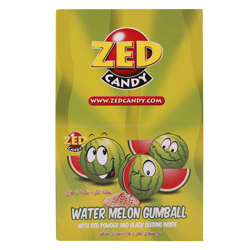 Zed Watermelon Flavour Gumball 35 gr Pack of 40