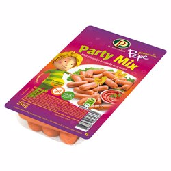 Perutnina Pepe Chicken Mini Frankfurters Party Mix 250 Gr
