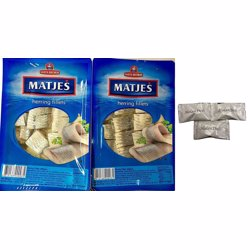Santa Bremor Matjas Herring Fillet In Oil 250 gr