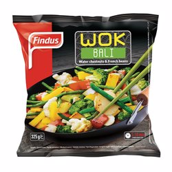 Findus Wok Bali Vegetable Mix 325 gr