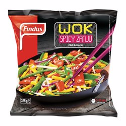 Findus Wok Spicy Zanju Vegetable Mix 325 gr