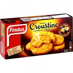 Findus Frozen Croustine Potatoes 420 gr