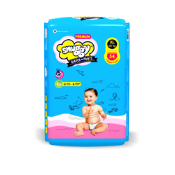 Snuggy Diaper Baby Premium Pant 54 Pieces XL 13 kg