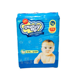 Snuggy Baby Diapers 6-11 kg 75 Pieces