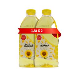 Safya Sunflower Oil 1.8 Lt Pack Of 2