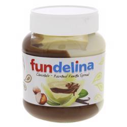 Fundelina Chocolate Hazelnut Vanilla Spread 350 gr