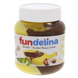 Fundelina Chocolate Hazelnut Banana Spread 350 gr