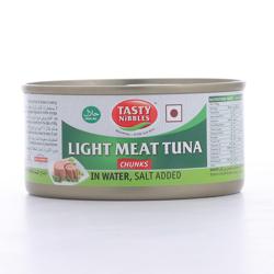 Tasty Nibbles Light Tuna Chunks In Water Salt 185 gr