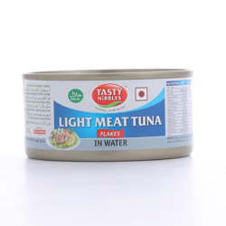 Tasty Nibbles Light Meat Tuna Flakes In Water 185 gr