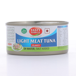 Tasty Nibbles Light Tuna Flakes In Water Salt 185 gr