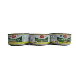 Tasty Nibbles Light Tuna Chunks In Sunflower Oil x3 170 gr