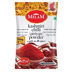 Melam Kashmiri Chilli Powder 200 gr