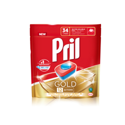 Pril Gold 12 Action Adw-Tabs 34