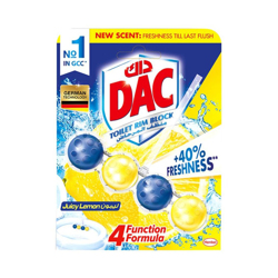Dac Toilet Cleaner Power Active Lemon-51gm