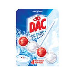 Dac Toilet Cleaner Power Active Chlorine-51gm