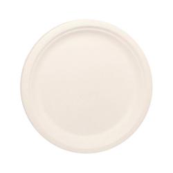 "BioWare 500 Piece 10"" Plate Bagasse Biodegradable"
